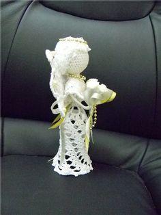 diese wunderbaren gehkelten engel macht man einfach selber mit diesem gratis muster diy bastelideen religioso crochet pinterest crochet angel and - Ngel Muster Selber Machen