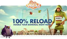 Slotty Vegas Casino – 100% Reload Bonus up to £/$/€250