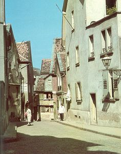 Darmstadt früher   Altstadt-Gassen