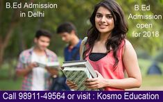Students can get into B. Ed admission in Delhi and come across the skilled and professional mentors.
