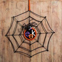 Halloween Spiderweb Decoration