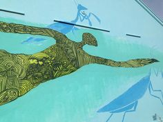 mantis swimmer
