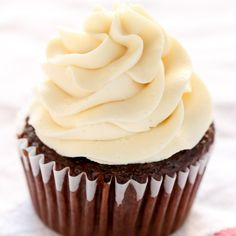 Learn how to make buttercream frosting with this easy tutorial. This is the BEST recipe for buttercream and makes a great base for other frosting flavors!
