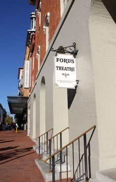 Ford's Theatre is a historic theatre in Washington, D.C., used for various stage performances beginning in the 1860s. It is also the site of the assassination of U.S. President Abraham Lincoln on April 14, 1865. Wikipedia Address: 511 10th St NW, Washington, DC 20004