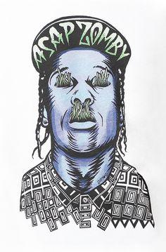 www.hotnewhiphop.com A$AP Rocky #ASAPROCKY