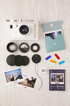 Lomography Lomo'Instant Wide Camera - White