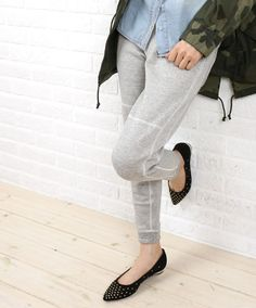 kha:ki(カーキ) コットン 裾リブ スウェットパンツ・MIL-14FPT43  #kha:ki Pants, Fashion, Trouser Pants, Moda, Fashion Styles, Women's Pants, Women Pants, Fashion Illustrations, Trousers