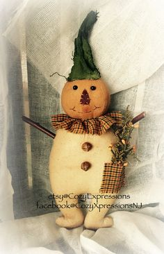 Happy Harvey Pumpkin Boy by CozyExpressions on Etsy