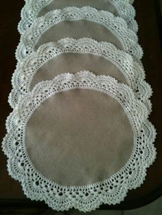 Crochet Placemats, Crochet Quilt, Crochet Home, Crochet Motif, Diy Crochet, Crochet Designs, Crochet Doilies, Crochet Patterns, Crochet Projects