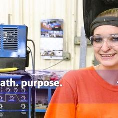 As a fourth generation welder, Sierra Jennings' choice of occupation follows a long family tradition. But as a woman working in the welding industry, her choice is considered non traditional. Her training at #EVIT gave Jennings the skills & confidence to bridge the gap and succeed in a field where women are the minority. Read more at www.evit.com #WeAreEVIT