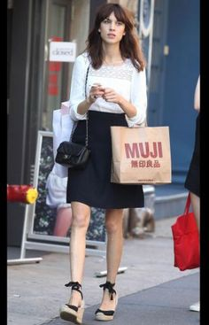 J'ai le sac Muji, c'est un début...