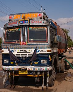 Painted Truck - Indore, india (045) | Flickr - Photo Sharing!