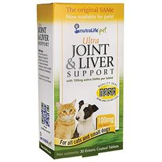 Nutralife Health Products Ultra Joint and Liver Support - Cats and Small Dogs 100 mg 30 Tabs -- New and awesome product awaits you, Read it now  (This is an amazon affiliate link. I may earn commission from it)