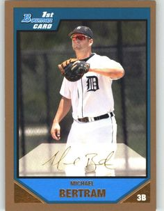 2007 Bowman Prospects Gold BP73 Michael Bertram - Detroit Tigers (XRC - Rookie Card Parallel / Prospect Parallel) (Baseball Cards) -- This is an Amazon Affiliate link. You can get additional details at the image link.