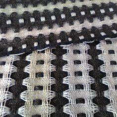 New design sample before washing.#weaving