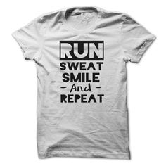 Cool T Shirts Best Deals Running At Engineertshirts Design Description Run Sweat Smile And Repeat If You Don Completely Love This Tshirt