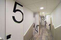 Interior design of training center: THE CORRIDOR!