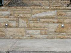 sandstone retaining wall blocks - Google Search