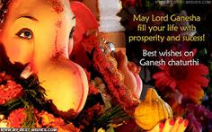 #Wishing you lots of #happiness and Lord Ganesha's blessings on the auspicious occasion of Ganesh Chaturthi. Enjoy the festival Happy #GaneshChaturthi .