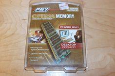 PNY 512MB PC3200 DDR 400 MHZ DESKTOP MEMORY BRAND NEW  IN ORIGINAL PACKAGE #PNY http://www.ebay.com/itm/251610886022