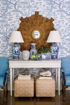 Happy New Year, my dears! I thought we'd kick off 2018 with this charming home tour published by Southern Living. When decorator Allison Allen moved into her circa1951 Atlanta home (inherited from her husband's grandparents) she saw serious potential. The dilapidated home was ripe for a makeover and in two short months (!!) Allison made …