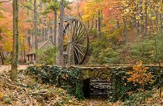 Old mill at Berry College Rome, Ga.