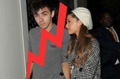 Ariana Grande confirmó la ruptura con Nathan Sykes • MundoTKM