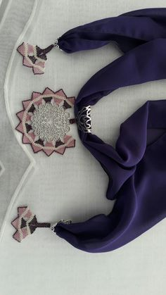 Scarf Jewelry, Needle Lace, Needlework, 3 D, Diy And Crafts, Brooch, Embroidery, Knitting, Crochet