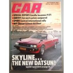 September 1982 in the Magazines category was listed for on 7 Feb at by TomHarvey in Vereeniging Car Magazine, Vintage Magazines, September, Vintage Journals