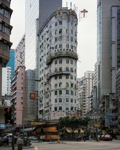 "In ""Hong Kong Corner Houses,"" the internationally renowned German photographer Michael Wolf continues with his visual quest for the overlooked and underappreciated urban phenomena that give a city its. Landscape Tattoo, Landscape Artwork, Landscape Drawings, Landscapes, Country Landscaping, Modern Landscaping, Modern Landscape Design, Urban Landscape, Wolf Photography"
