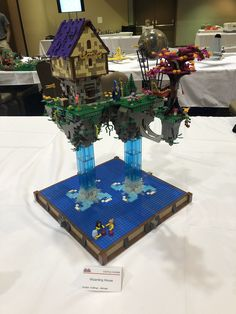 Lego Creations, Table Decorations, House, Home Decor, Decoration Home, Home, Room Decor, Home Interior Design, Homes