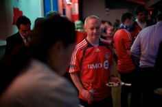 The new TFC kit unveiled at The Berkeley Church at the launch party Toronto Fc, Launch Party, Fans, Product Launch, Events, Kit, Happy, Blog, Ser Feliz