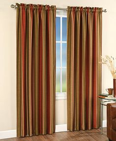 "CHF Peri Faux Silk Stripe 42"" x 84\"" Panel HOW ABOUT THESE!"