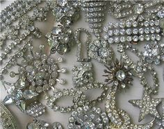 Vintage Rhinestone Costume Jewelry | Flickr - Photo Sharing!