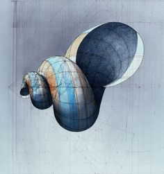 A colouring book for colouring fanatics and math nerds. Fibonacci Art, Sacred Geometry Art, Geometry Art, Art Drawings, Shell Drawing, Painting Inspiration, Illustration Art, Coloring Books, Art
