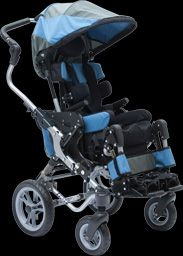 Kids Fast wheelchair by Quantum - Perfect wheelchair for children with Cerebral palsy.