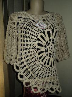 Essa blusa foi tirada do modelo da blusa da apresentadora Ana Maria Braga, feita com linha 100% algodão. Feita na cor desejada R$ 120,00