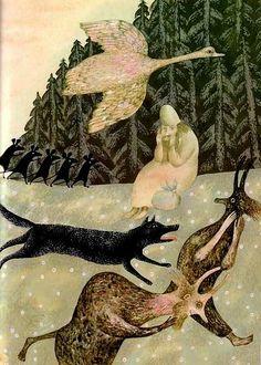 Vera Pavlova - Russian Illustrator Children's Book Illustration, Watercolor Illustration, Magazine Art, Croquis, Pavlova, Russian Folk, Russian Art, Illustrations Posters, Bellini