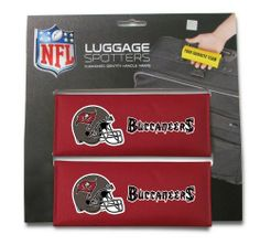 NFL Tampa Bay Buccaneers Single Luggage Spotter by Rico. $5.00. Nylon handle wrap for cushion comfort with patented ID window sewn in place and enclosed by velcro