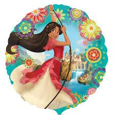 Elena of Avalor Balloon - Foil Mylar. Decorate your Princess Elena of Avalor party with balloons! Use a pump to blow up the balloon. Balloon weights and ribbons attached to balloons contribute to the floating ability. Birthday Box, Birthday Party Favors, Birthday Balloons, Birthday Party Decorations, Birthday Ideas, Party Party, Happy Birthday, Round Balloons, Foil Balloons
