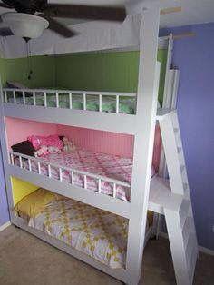 Dormitorios de 3 camas