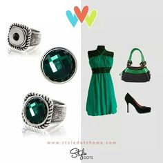 Green is May's birthstone...how gorgeous! http://snappy.styledotshome.com #snaptastic