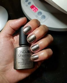 Cnd Shellac Colors, Cnd Nails, Nail Manicure, Gel Nail Polish, Nail Colors, Manicure Ideas, All Things Beauty, Girly Things, Girly Stuff