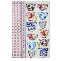 Rice Bowls Cotton Tea Towel