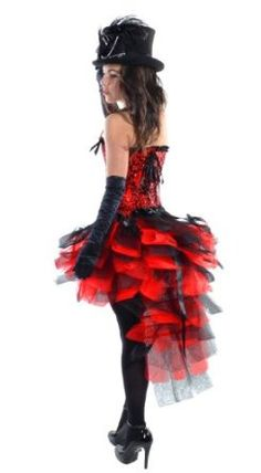 How To Dress For A Moulin Rouge Party (With Pictures!) Big Hats Gloves And Fishnets! | Ideas ...