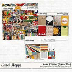 You Shine Bundle by Libby Pritchett & Studio Basic Designs  http://www.sweetshoppedesigns.com/sweetshoppe/product.php?productid=25777=574=1