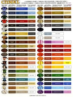 Layering Chart Beard Tutorial Gallery Bugmans Brewery The Home For All Warhammer Dwarf Fans Manuel Ruiz Citadel Paint Charts