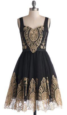 In the Chandelier Light Dress