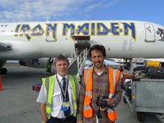 Flying with Iron Maiden's Bruce Dickinson to Iceland