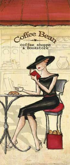 Sunday coffee and a good book!